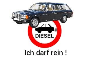Oldtimer-Diesel