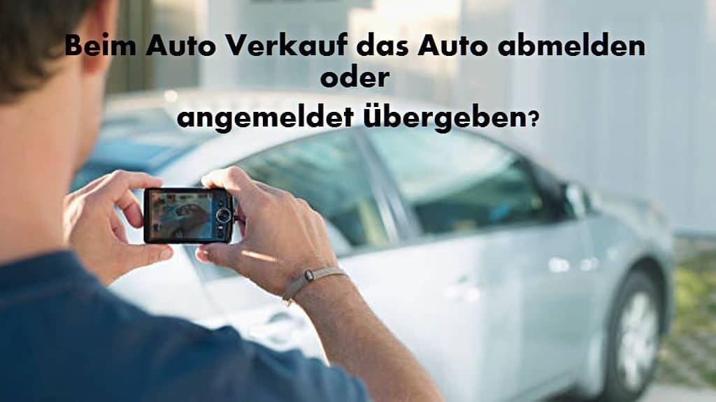 Titel-Auto-verkauf-abmeldung
