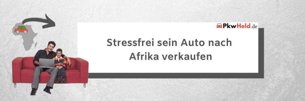 Autoexport Afrika Bild